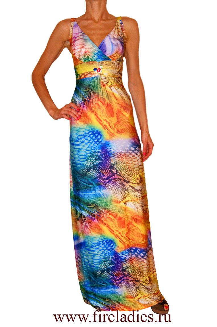 Длинное платье Forsara 1605