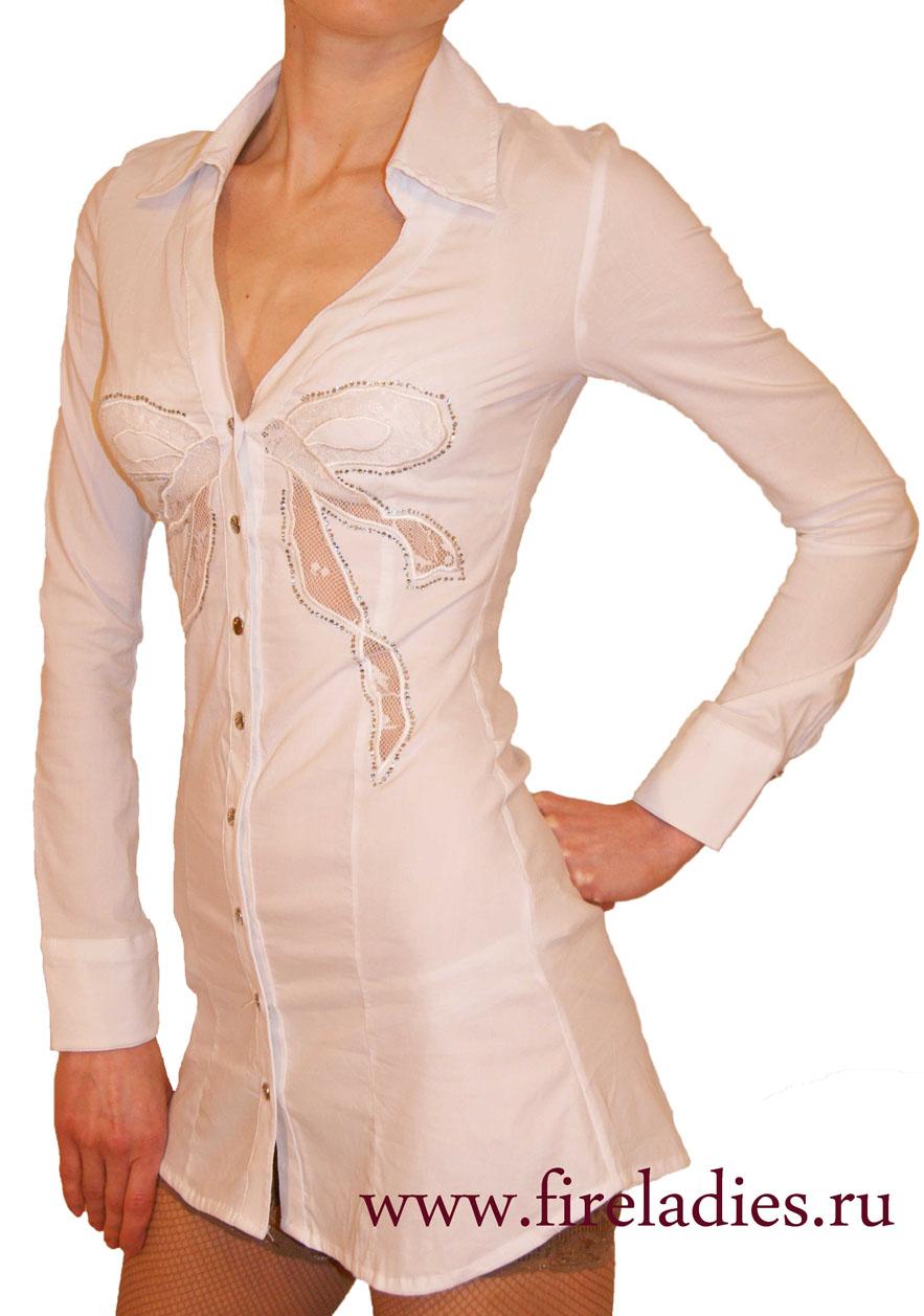 Купить стильные белые блузки