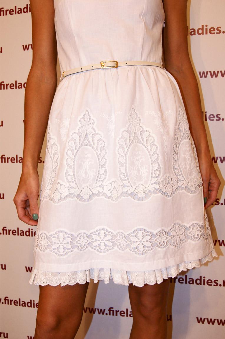 Платье белого цвета с доставкой